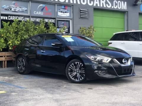 2017 Nissan Maxima for sale at CARUCARS LLC in Miami FL