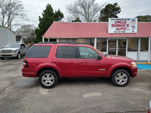 2008 Ford Explorer for sale at Uncle Ronnie's Auto LLC in Houma LA