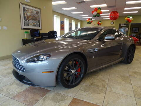 2014 Aston Martin V8 Vantage for sale at KING RICHARDS AUTO CENTER in East Providence RI