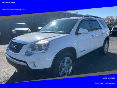2007 GMC Acadia for sale at Wholesale Kings in Elkhart IN