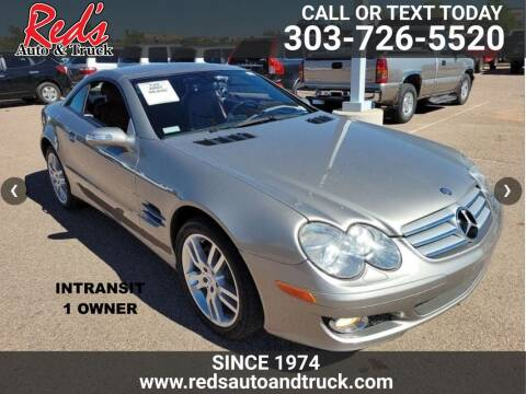 2007 Mercedes-Benz SL-Class for sale at Red's Auto and Truck in Longmont CO