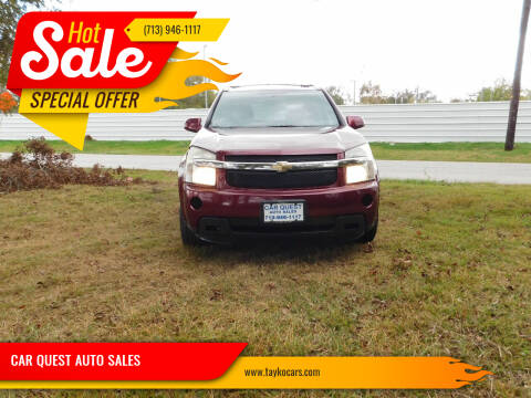 2009 Chevrolet Equinox for sale at CAR QUEST AUTO SALES in Houston TX