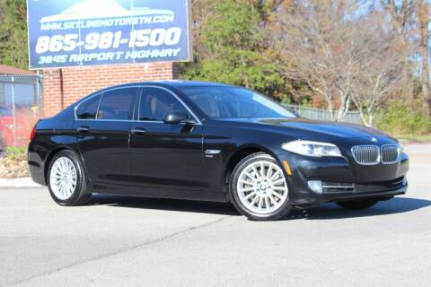 2011 BMW 5 Series for sale at Skyline Motors in Louisville TN