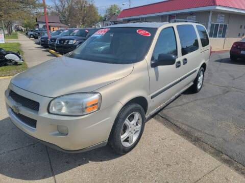 2007 Chevrolet Uplander for sale at THE PATRIOT AUTO GROUP LLC in Elkhart IN