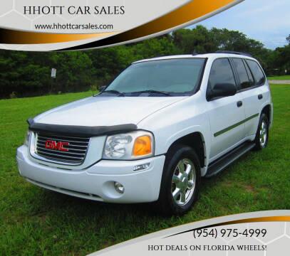 2007 GMC Envoy for sale at HHOTT CAR SALES in Deerfield Beach FL