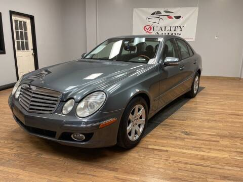 2009 Mercedes-Benz E-Class for sale at Quality Autos in Marietta GA