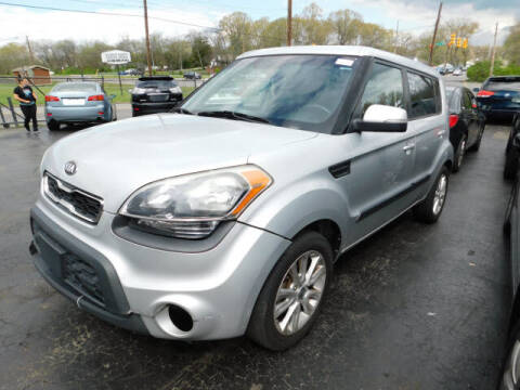2013 Kia Soul for sale at WOOD MOTOR COMPANY in Madison TN
