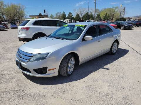 2010 Ford Fusion for sale at Canyon View Auto Sales in Cedar City UT
