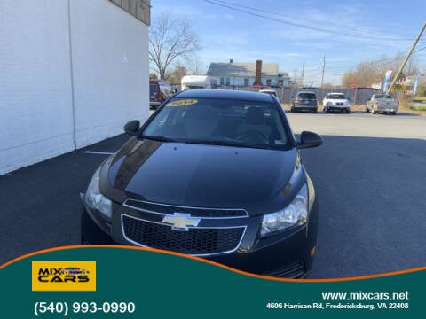 2014 Chevrolet Cruze for sale at Mix Cars in Fredericksburg VA