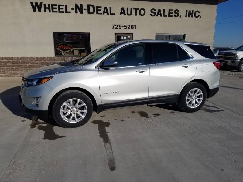 2020 Chevrolet Equinox for sale at Wheel - N - Deal Auto Sales Inc in Fairbury NE