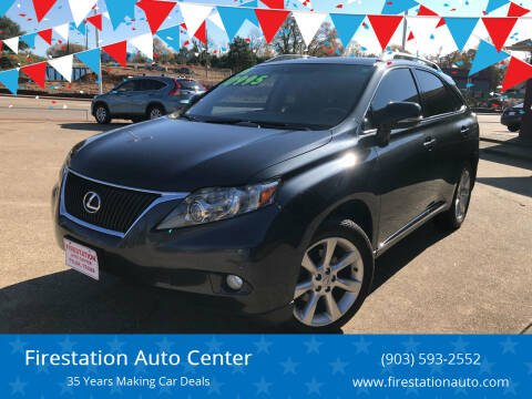 2011 Lexus RX 350 for sale at Firestation Auto Center in Tyler TX