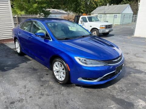 2015 Chrysler 200 for sale at Brucken Motors in Evansville IN