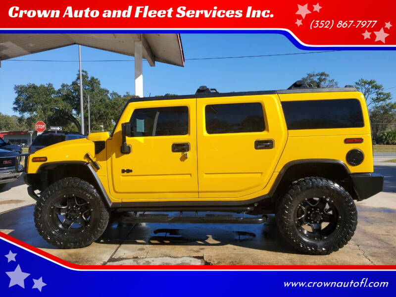 2003 HUMMER H2 for sale at Crown Auto and Fleet Services Inc. in Ocala FL