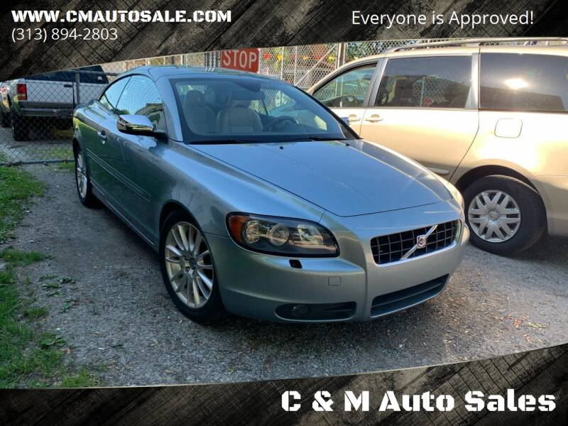2007 Volvo C70 for sale at C & M Auto Sales in Detroit MI