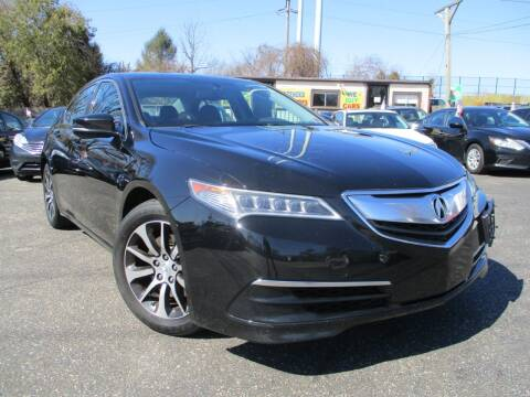 2015 Acura TLX for sale at Unlimited Auto Sales Inc. in Mount Sinai NY