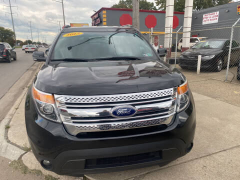 2015 Ford Explorer for sale at Matthew's Stop & Look Auto Sales in Detroit MI