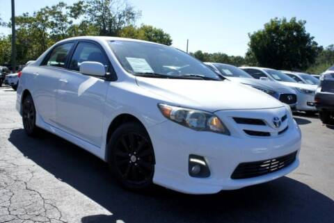 2013 Toyota Corolla for sale at CU Carfinders in Norcross GA