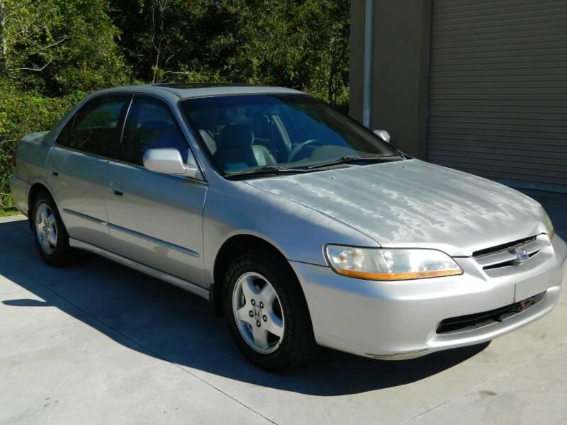 1999 Honda Accord for sale at Jeff's Auto Sales & Service in Port Charlotte FL