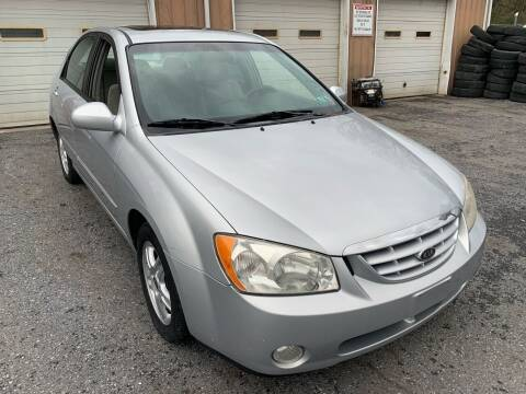 2005 Kia Spectra for sale at YASSE'S AUTO SALES in Steelton PA