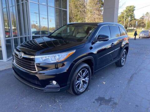 2016 Toyota Highlander for sale at Credit Union Auto Buying Service in Winston Salem NC