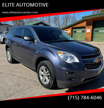 2014 Chevrolet Equinox for sale at ELITE AUTOMOTIVE in Crandon WI