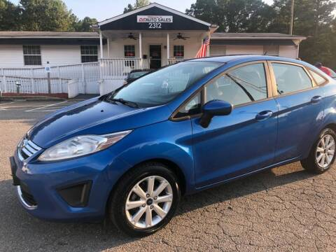 2011 Ford Fiesta for sale at CVC AUTO SALES in Durham NC