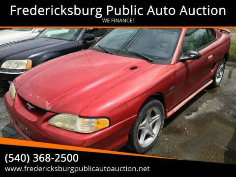 1996 Ford Mustang for sale at FPAA in Fredericksburg VA