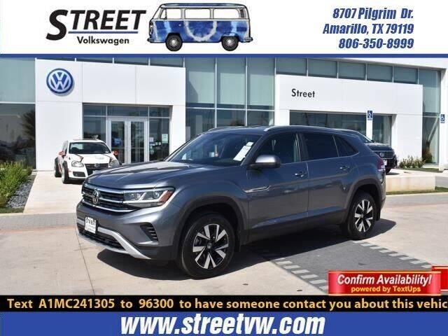 2021 Volkswagen Atlas Cross Sport for sale in Amarillo, TX