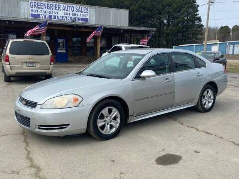 2009 Chevrolet Impala for sale at Greenbrier Auto Sales in Greenbrier AR