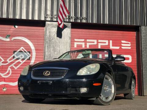 2002 Lexus SC 430 for sale at Apple Auto Sales Inc in Camillus NY