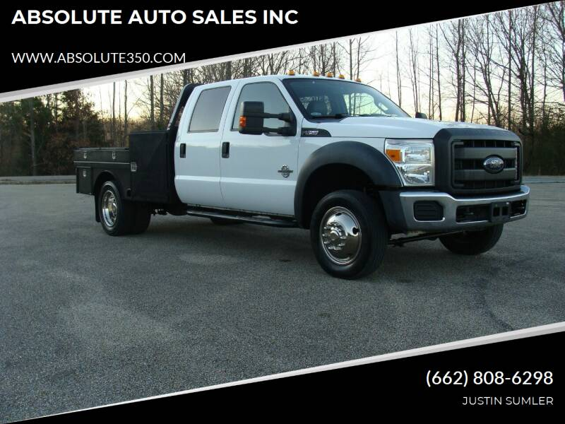 2015 Ford F-450 Super Duty for sale at ABSOLUTE AUTO SALES INC in Corinth MS