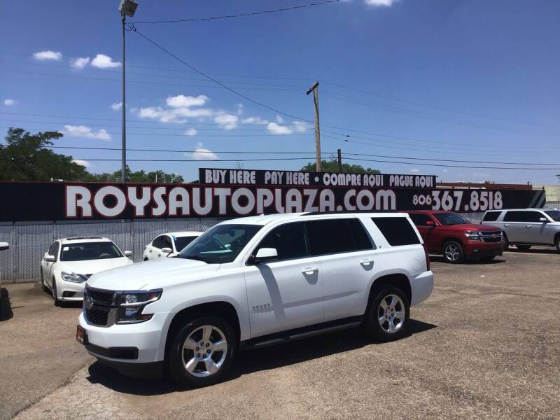 2016 Chevrolet Tahoe for sale at Roy's Auto Plaza 2 in Amarillo TX