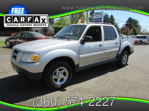 2004 Ford Explorer Sport Trac for sale at Hall Motors LLC in Vancouver WA