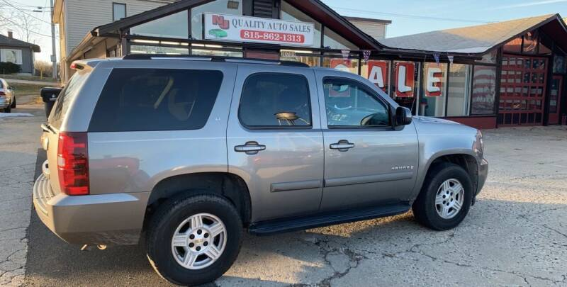 2007 Chevrolet Tahoe for sale at NJ Quality Auto Sales LLC in Richmond IL