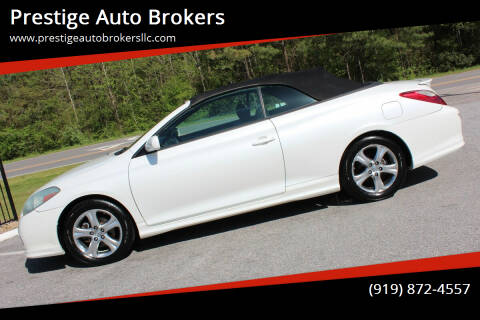 2007 Toyota Camry Solara for sale at Prestige Auto Brokers in Raleigh NC