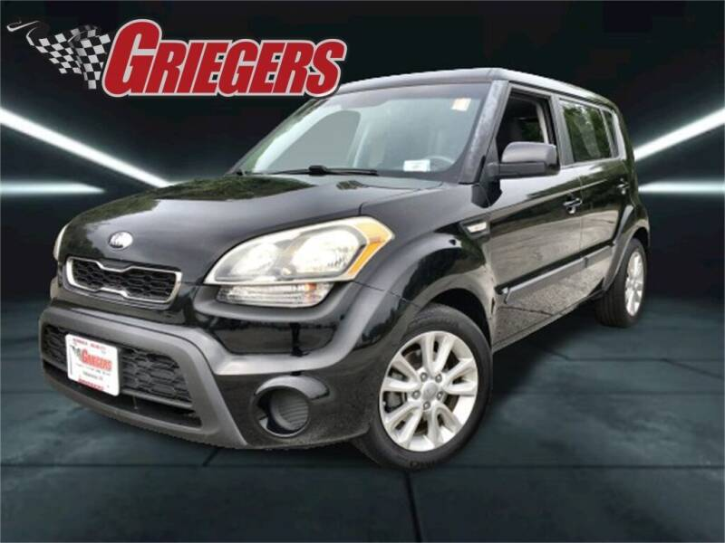 2013 Kia Soul for sale at GRIEGER'S MOTOR SALES CHRYSLER DODGE JEEP RAM in Valparaiso IN