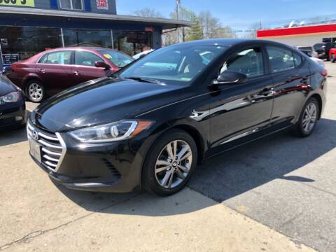 2017 Hyundai Elantra for sale at Wise Investments Auto Sales in Sellersburg IN