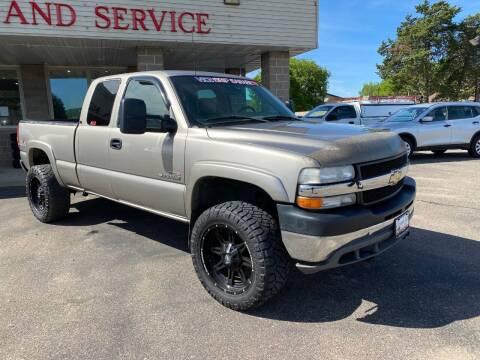 2001 Chevrolet Silverado 2500HD for sale at Osceola Auto Sales and Service in Osceola WI