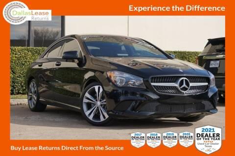 2016 Mercedes-Benz CLA for sale at Dallas Auto Finance in Dallas TX