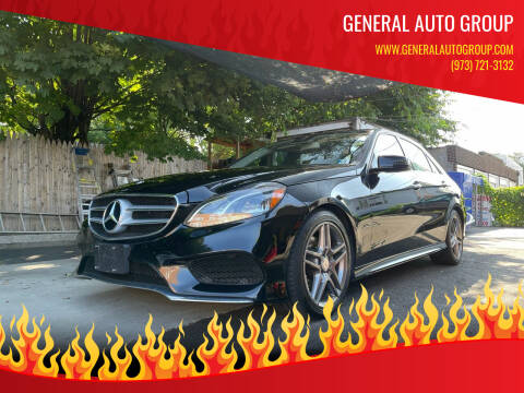2014 Mercedes-Benz E-Class for sale at General Auto Group in Irvington NJ