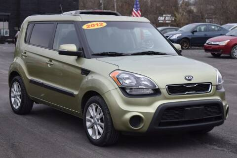 2012 Kia Soul for sale at GREENPORT AUTO in Hudson NY