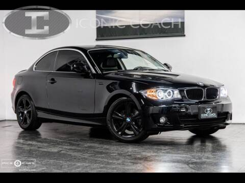 2013 BMW 1 Series for sale at Iconic Coach in San Diego CA