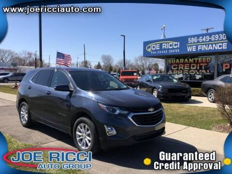 2018 Chevrolet Equinox for sale at JOE RICCI AUTOMOTIVE in Clinton Township MI