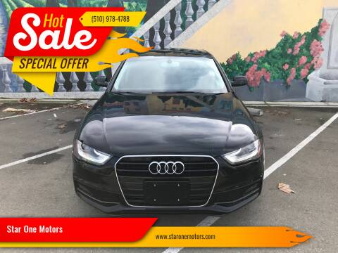 2015 Audi A4 for sale at Star One Motors in Hayward CA