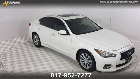 2015 Infiniti Q50 for sale at Excellence Auto Direct in Euless TX