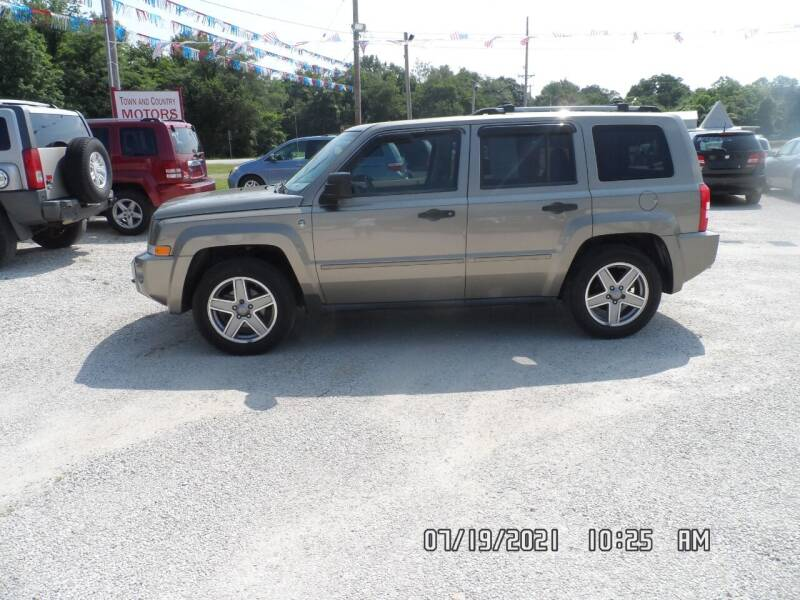 2007 Jeep Patriot for sale at Town and Country Motors in Warsaw MO