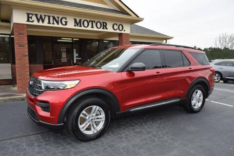 2020 Ford Explorer for sale at Ewing Motor Company in Buford GA