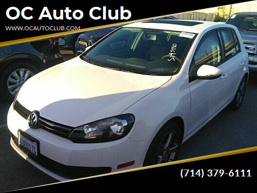 2012 Volkswagen Golf for sale at OC Auto Club in Midway City CA