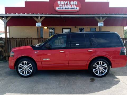 2008 Ford Expedition for sale at Taylor Trading Co in Beaumont TX