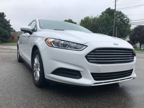 2016 Ford Fusion for sale at King Louis Auto Sales in Louisville KY